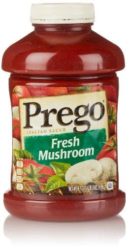 Prego Italian Sauce, Fresh Mushroom, 67 Ounce