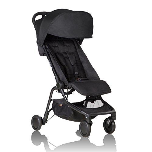 Mountain Buggy 2016 Nano Stroller, Black