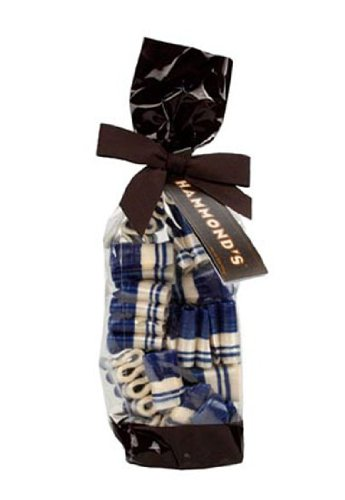 6 Oz Gift Bag Blue Raspberry Mini Ribbon Candy Hammond's Hannukah