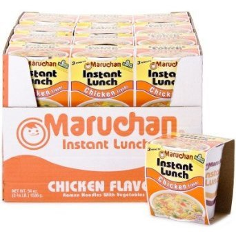 Maruchan Instant Lunch Chicken Flavored Noodle Bowls 24 Pack