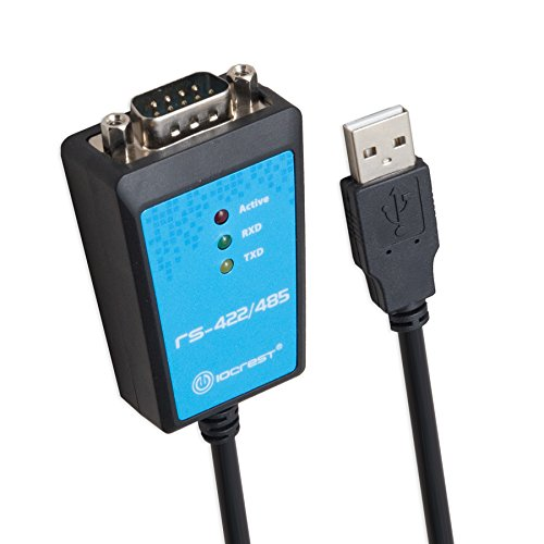 IOCrest USB 2.0 to RS-422/485 FTDI Adapter with Terminal Components