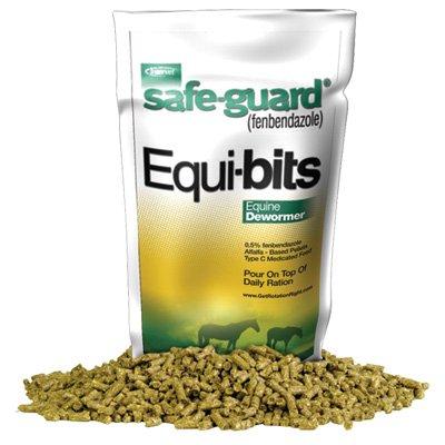 Intervet Safeguard Dewormer Pellets for Horses, 1.25-Pound