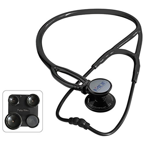 MDF® ProCardial ERA Cardiology Lightweight Dual Head Stethoscope with Adult, Pediatric, and Infant-Neonatal convertible chestpiece