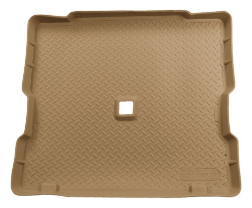 Husky Liners Custom Fit Molded Rear Cargo Liner for Select Jeep Wrangler Models (Tan)