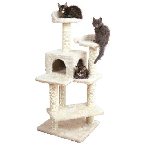 Trixie Pet Products Simona Cat Tree, Cream