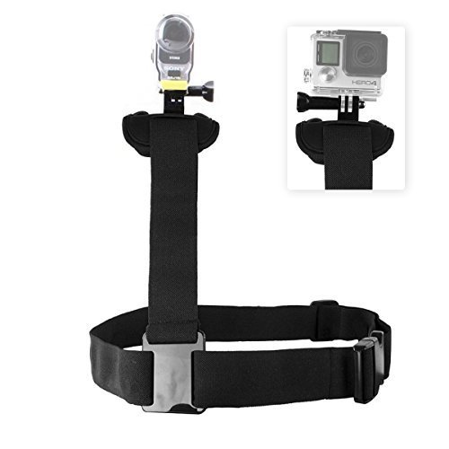 Shoulder Strap Harness, Dreampark Adjustable Shoulder Body Blet Strap for Gopro Hero 4 3+ 3 2 Hero4 Session Hero+ LCD Sony Action Cam HDR-AZ1 Mini AS200V AS100V / FDR-X1000V SJ4000 SJ5000 Cameras