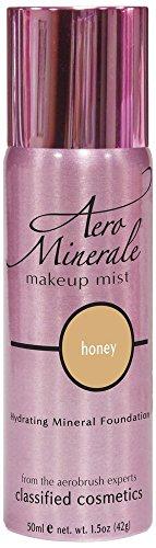 Aero Minerale Foundation Makeup Mist, Honey