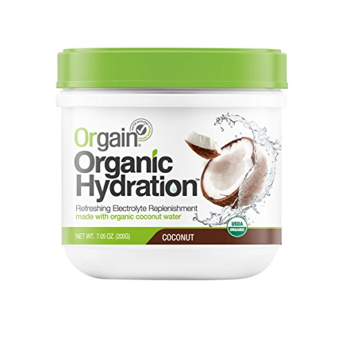 Orgain Organic Hydration Powder, Coconut, 7.05 Ounce