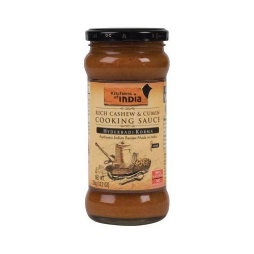 Kitchens Of India, Sauce Ckng Cshw & Cumin, 12.2 OZ (Pack of 12)