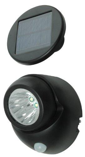 Moonrays 95020 Motion Sensor Light, Wireless Solar Security Fixture