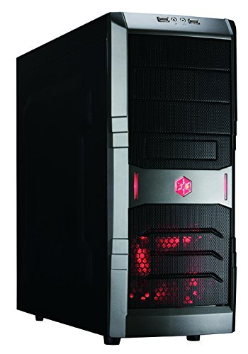 SilverStone SST-RL01B; Red Line Tower ATX, black