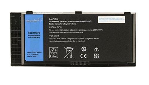 TechOrbits Battery for Dell Precision M4600 M4700 M6600 M6700 FV993 PG6RC R7PND 0TN1K5-6600mAh-3 Years Warranty
