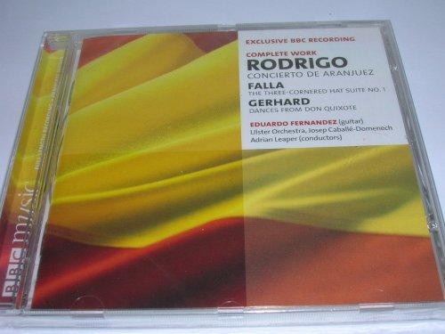 Eduardo Fernandez performs Rodrigo: Concierto de Aranjuez; Falla: The Three-Cornered Hat Suite No. 1; Gerhard: Dances from Don Quixote
