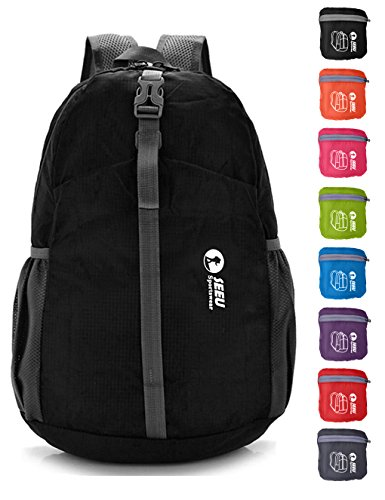 20L Ultra Lightweight Tear & Water Resistant Handy Foldable Backpack (8 Colors)