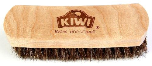 Kiwi Leather Shine Horsehair Brush