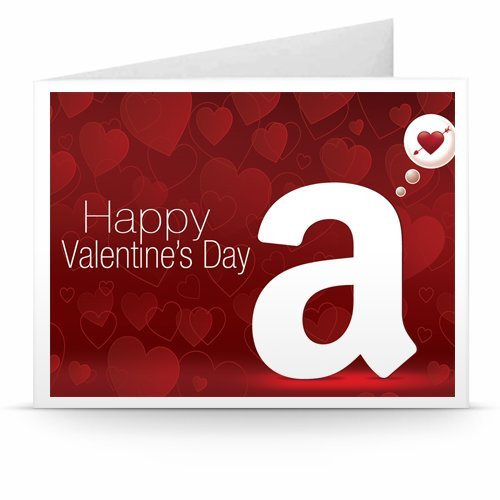 Valentine's Day - Printable Amazon.co.uk Gift Voucher