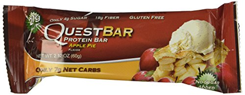 Quest Nutrition Protein Bars, Apple Pie,2.12 oz(Pack of 24)