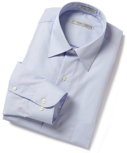 Geoffrey Beene Men's Spread Collar Cool & Dry Broadcloth Woven Shirt