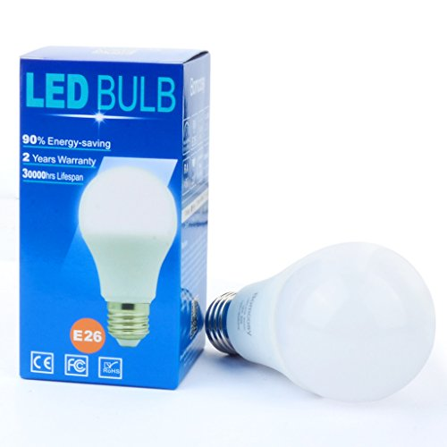 Bomcosy 12W A19 E26 LED Bulbs,100W Incandescent Bulb Equivalent,Not Dimmable,1050 Luminous
