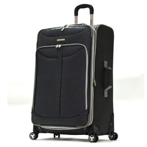 Olympia Luggage  Tuscany 30 Inch Expandable Vertical Rolling Luggage Case