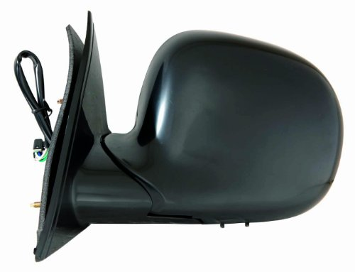 Depo 335-5408L3EB1 Black Driver Side Power Non-Heated Mirror