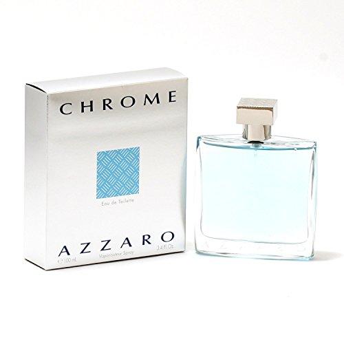 Azzaro Chrome Edt Spray 3.3 Oz Mens Fragrance
