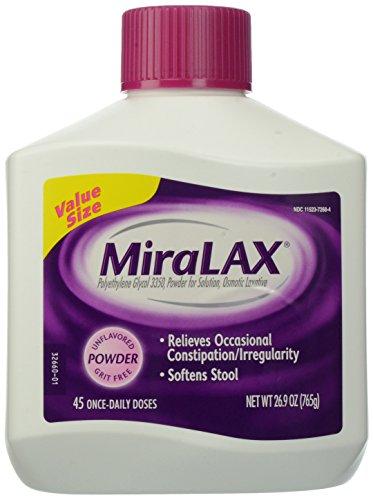 MiraLAX Laxatives, 26.9 Ounce