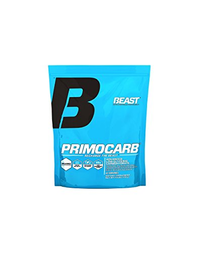 Beast Sports Nutrition, Primocarb Advanced Low Glyemic Carbohydrate, Unflavored, 2.6 Pound