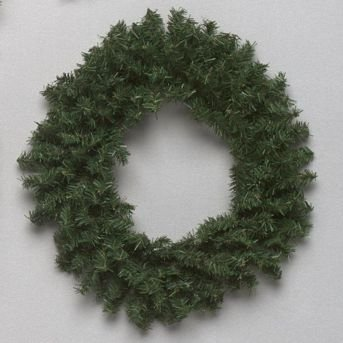 6 Mini Pine Artificial Christmas Wreath - Unlit