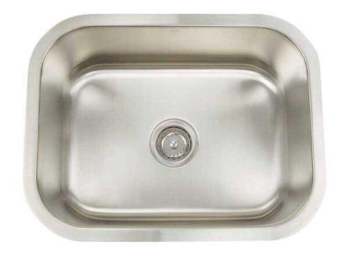 Artisan AR 2318 D9-D Premium Collection 16-Gauge 23-Inch Undermount Single Basin Stainless Steel Utility Sink