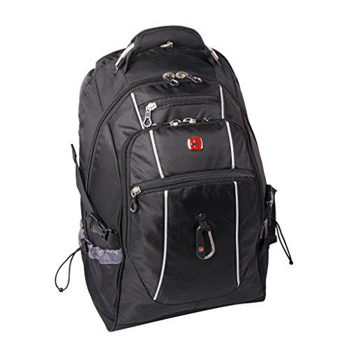 Swiss Gear SWA2324 17.3-Inch Laptop, Black, Under Seat