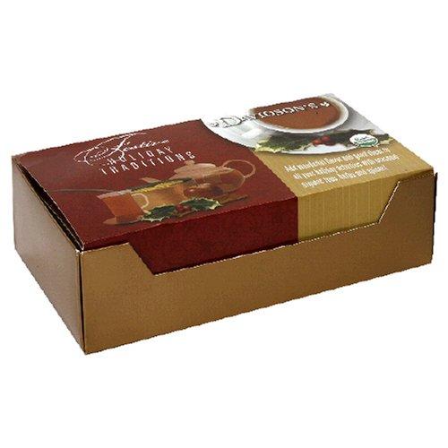 100 individually wrapped Davidson's Tea Single Serve Christmas Tea Bag