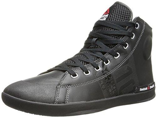Reebok Men's RCF Lite TR Training Shoe, Black/Flat Grey, 9 M US