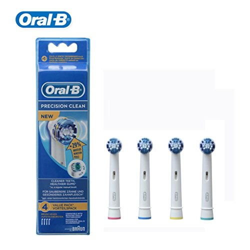 Genuine Oral- B EB20-4 Precision Clean Electric Toothbrush Head Replaceable Brush Head