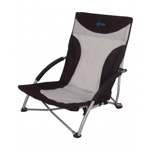 Kampa Sandy High Back Low Chair - Charcoal