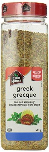 Club House Greek Seasoning One Step, 510 Gram