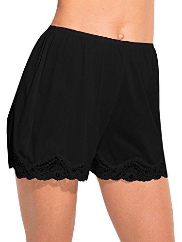 Ilusion Classic Daywear Bloomer Slip Medium Black