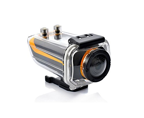 PowerLead AC001 1080p Full HD Extreme Sports Action Camera Camcorder ProView HD with Waterproof Case, 4 different mount, G Sensor, HDMI