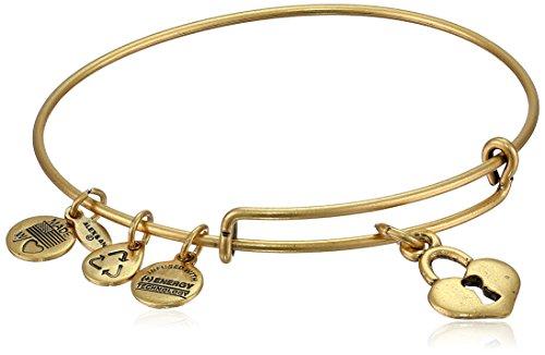 Alex and Ani Bangle Bar Key to My Heart Expandable Bracelet, 7.75