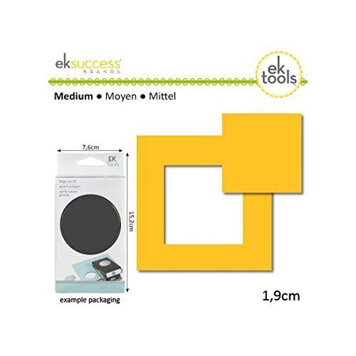 EK tools Square Nesting Punch, 0.75-Inch