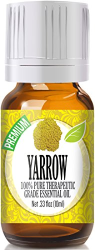 Yarrow 100% Pure, Best Therapeutic Grade Essential Oil - 10ml