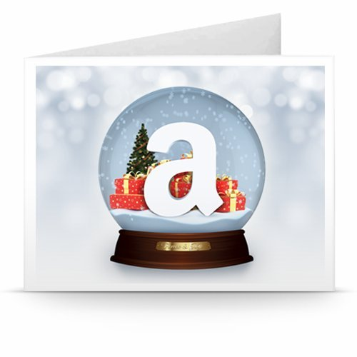 Christmas Globe - Printable Amazon.co.uk Gift Voucher