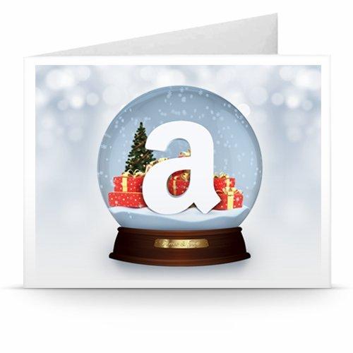 Christmas Globe - Printable Amazon.co.uk Gift Voucher