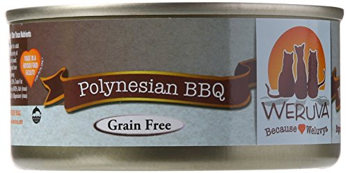 Weruva Cat Food, Polynesian BBQ, 5.5-Ounce Cans (Pack of 24)