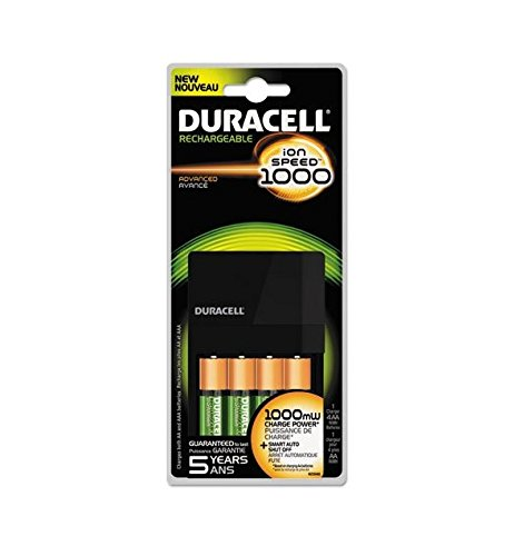 Duracell Value Charger with 4AA Rechargeables Precharged