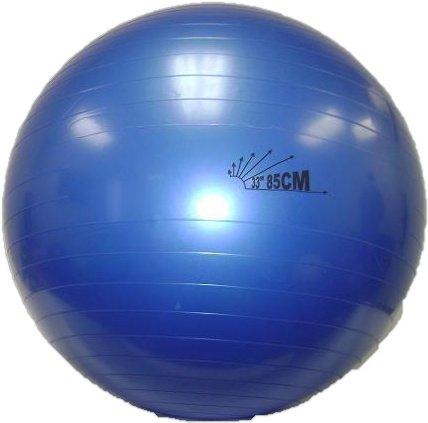 Balego® Heavy-Duty Exercise Fitness Balance Ball, 85 cm (33) Indigo