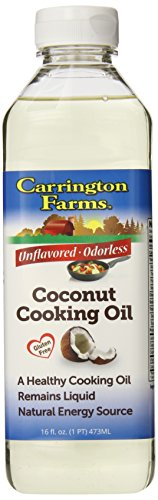 Carrington Farms Coconut Cooking Oil, 16 Ounce