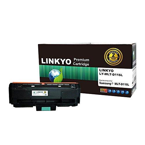 LINKYO Compatible Toner Cartridge Replacement for Samsung MLT-D116L (Black)