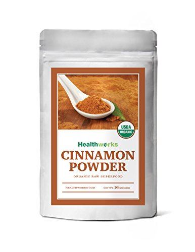 Healthworks Ceylon Cinnamon Organic Ground Powder, 1lb