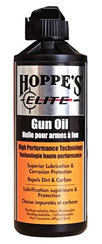 Hoppe's Elite Gun Oil, 4-Ounce Bottle
